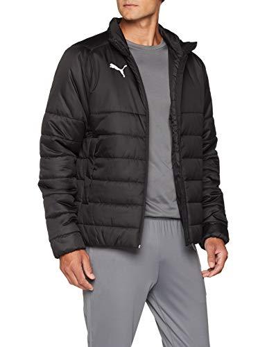 PUMA Herren Liga Casuals Padded Jacket Jacke, Black White, XXL