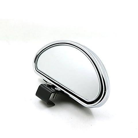 LJ Rétroviseur de voiture Deux pièces Grand angle réglable Astern Auxiliale HD Blind Spot Mirror
