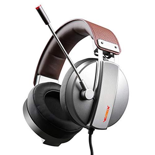 2019 XIBERIA S22 Gaming Kopfhörer mit Mikrofon für PC / PS4 / Laptop (Akustik-wireless-lautsprecher)