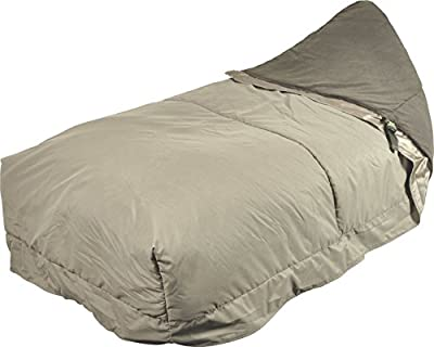 TF Gear Comfort Zone Peach Skin Sleeping Bag Cover - Warm Protection for Carp Fishing Fits Over Any Bed Chair by TFG