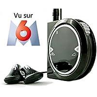 Tinteo TEO First Amplificateur d'écoute rechargeable Jack 3,5 mm Noir Brillant