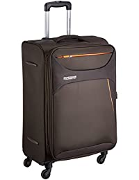 American Tourister Z-strike Polyester 56 cms Chocolate Brown Softsided Cabin Luggage (AMT Z-STRIKE SP56CM CHO BRW)