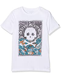 Quiksilver Ssteclasytdanbe T-Shirt Garçon, Bleu