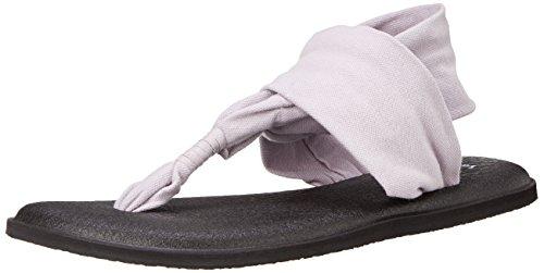 Sanuk Women's Yoga Sling 2 Flip Flop, Lavender, 6 M US