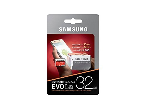 Teflon Samsung Evo Plus 32GB 95MB/S Read Speed Class 10 Micro SD Card With Adapter