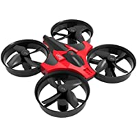 Mini RC Quadcopter ,Y56 2.4G 4CH 6Axis Gyro RC Quadcopter With LED Lights Headless Altitude Hold 360 ° Flip Drone(Easy Control For Beginners),Colour Red - Compare prices on radiocontrollers.eu
