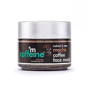 mCaffeine Mocha Coffee Face Pack Mask | Fights Skin Damage, Sebum & Oil Control | Cocoa, Kaolin & Bentonite Clay | For Skin Repair | Paraben & Cruelty Free | 100 gm