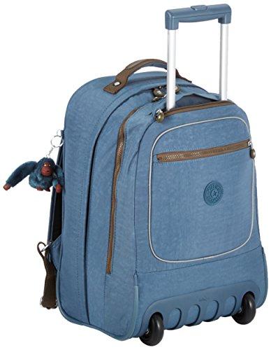 Kipling Clas Soobin L K1535908Q Sac à dos avec roulettes 28 l Couleur Blue Jean C