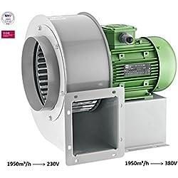 Radial ventilateur turbo Radial Valve ator Radial ventilateur centrifuge 230V 1950M³/H