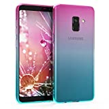 kwmobile Case for Samsung Galaxy A8 (2018) - Clear TPU Soft