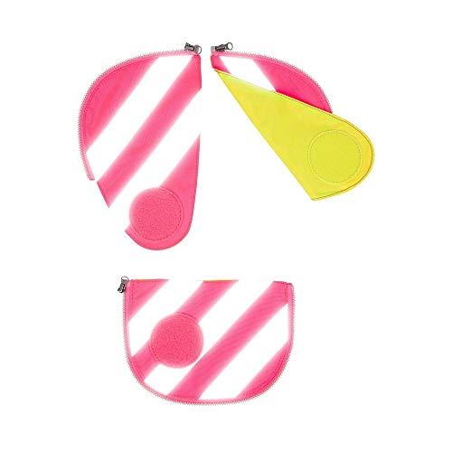 Ergobag Pack Sicherheitsset mit Reflektorstreifen 3tlg. Rosa (Pink) -