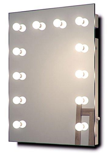 Diamond X Collection Hollywood Theater-Garderobe LED-Schminkspiegel k90CW