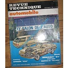 RTA0471 - REVUE TECHNIQUE AUTOMOBILE RENAULT R21 BERLINE et NEVADA 1721 cm3