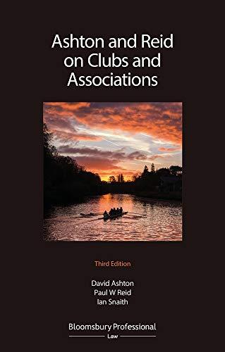 Ashton & Reid on Clubs and Associations por David Ashton