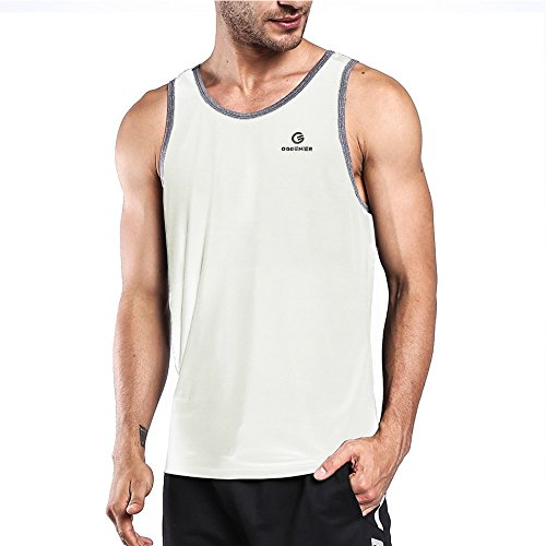Ogeenier Herren Sommer Sport Tank Top Muskelshirt für Training Gym Fitness & Bodybuilding