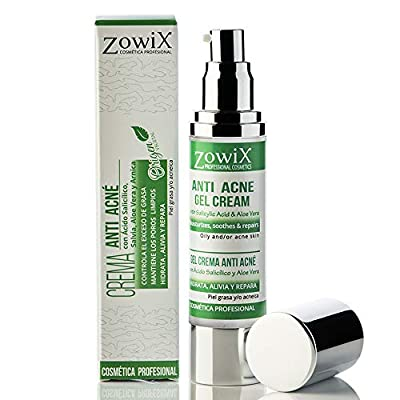 ZOWIX Gel Antiacne. Reduce