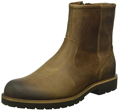 Ecco Herren Jamestown Biker Boots, Braun (Cocoa Brown2482), 44 EU