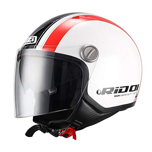 NZI Capital Duo Graphics Casco De Moto(Stread,Medio)