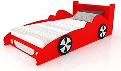 LittleBird Car Shaped Kids Bed (Red)