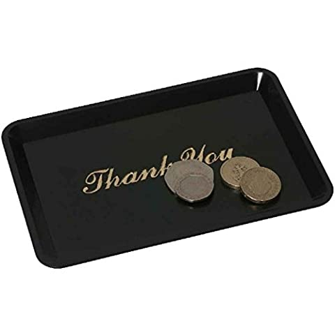 Genware NEV-3022-03 Tray, Tip 'Thank You', 4.1/2