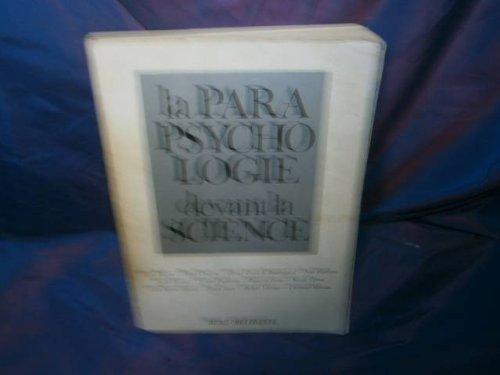 La parapsychologie devant la science