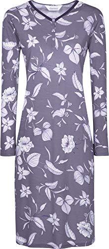 Charmor Damen-Nachthemd Interlock-Jersey lila Größe 38