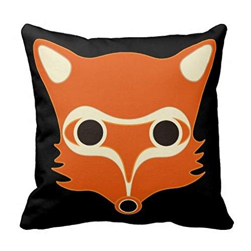 Zorro y ardilla ABCs manta funda de almohada