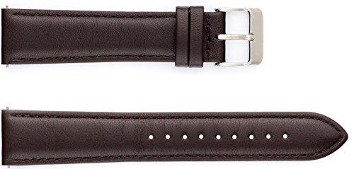 Uhrband CLASSIC (Band braun/Schließe silber)