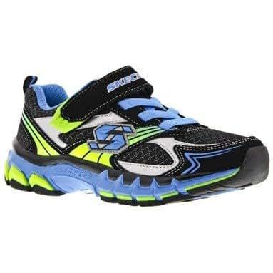 Skechers SK95723 Childrens Sports Shoes / Boys Trainers (9.5 UK Toddler) (Black/Blue)