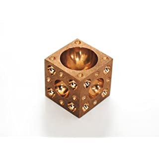 Proops Small brass doming block. (M0032) Free UK Postage