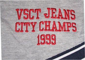 VSCT -  Felpa  - Uomo Grau-Blau-Rot