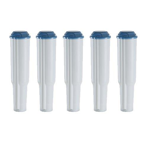 5 steckbare Kartuschen geeignet für Jura® Kaffeeautomaten bis Bauj.´09 außer ENA/Claris blue