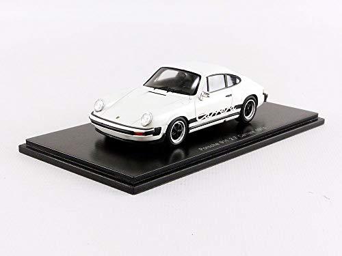 SPARK-Coche en Miniatura de colección, s4997, Color Blanco/Negro