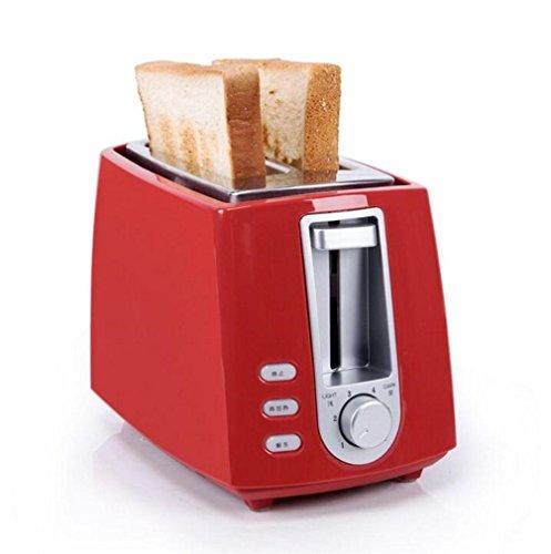 Große Elektro-röster (Happybeauty 2 scheiben Toaster mit Abbruch / Defrost / Reheat Funktion, 700W, extra Wide Slots und Custom Toasting Einstellungen , C)
