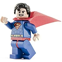 GENUINE Lego DC Super Heroes Smiling SUPERMAN Minifigure - split from Juniors 10724 set
