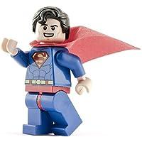 GENUINE Lego DC Super Heroes Smiling SUPERMAN Minifigure - split from Juniors 10724 set