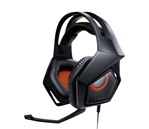 Asus Strix Pro Cuffia Gaming, 3.5mm, Nero