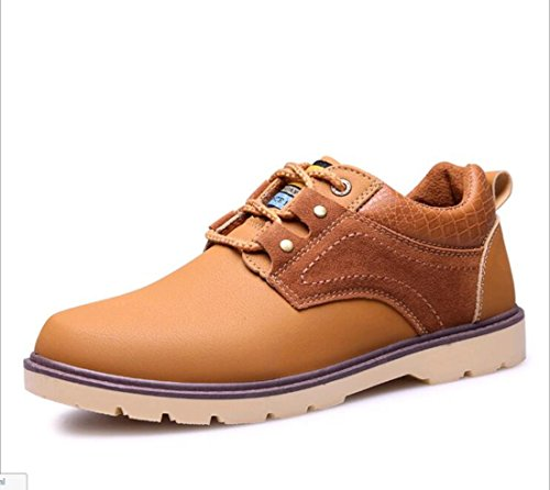 Men's British Tooling Tide Casual Shoes Orange