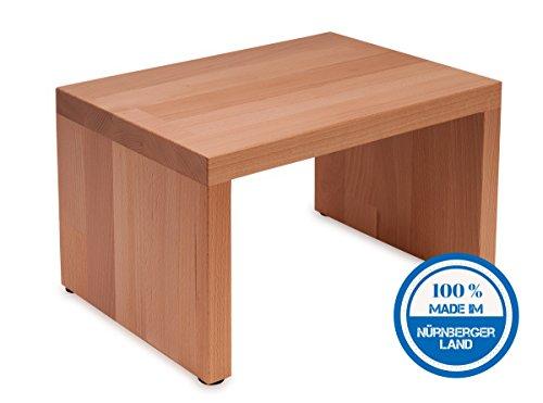 Sgabello in legno di faggio massiccio; sgabello; multifunzione podio