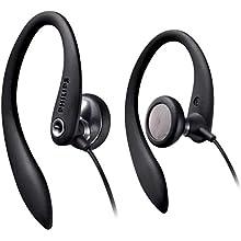 Philips SHS3300BK In-Ear Earhook Headphones - Black
