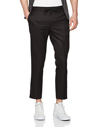 New Look Smart Jogger, Pantalon Homme Noir (noir)