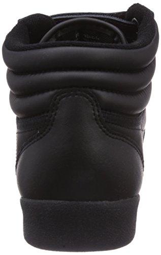 Reebok Freestyle Hi, Sneakers Hautes Mixte adulte Noir (Nero)