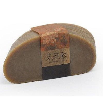 ROYAL NATURE, T-700 premium herbal mugwort red ginseng soap 155g (dry skin, and allergic symptoms...