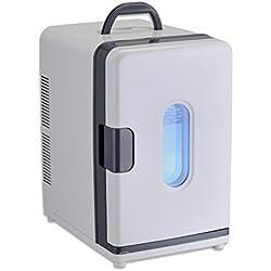 SL&BX Mini frigo Portable étudiant logement refriger Petit Format Blanc réfrigérateur congélateur Refroidisseur-Blanc