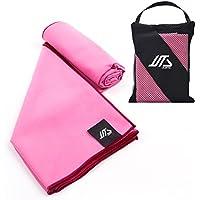 JUSTA - Toalla de deporte y de viaje: toalla súper absorbente y de secado rápido