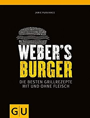 """Weber Grillbuch   Weber's Burger: Die besten Grillrezepte mit und ohne Fleisch + """"Grillmeister"""" Sticker by Collectix"""