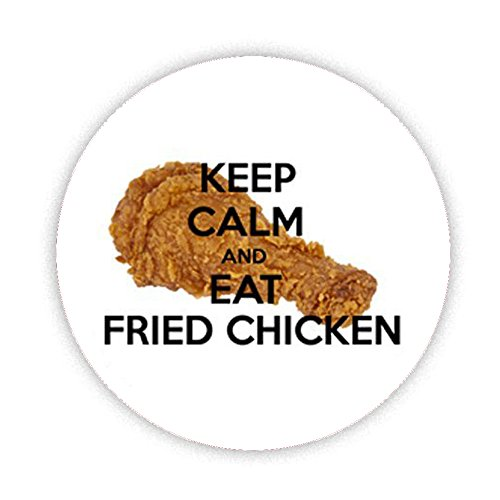 keep-calm-and-eat-fried-chicken-button-badge-38mm-small-pinback-pin-back-lapel-novelty-gift