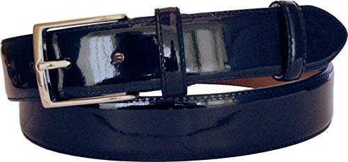 cintura-35-cm-in-vernice-di-pelle-foderate-in-pelle-naturale-fiore-nabuk-105-cmgirovita-90-cm-taglia