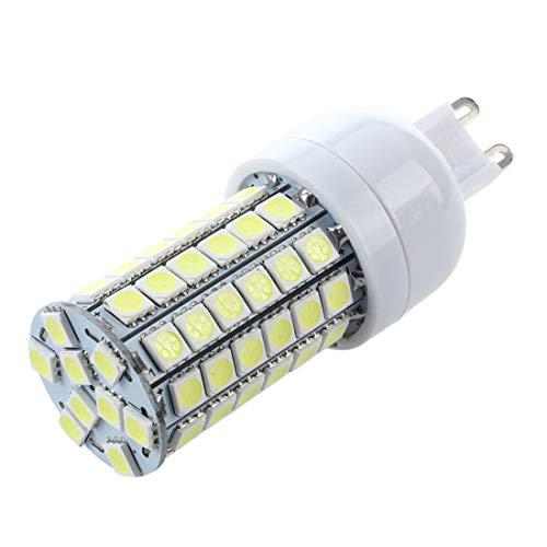 JVSISM G9 8W 69 LED 3528 SMD Lampara Bombilla Foco 6500K Luz...