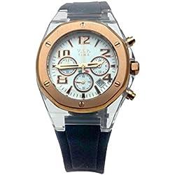 V.I.P Time Clock Rubber Black